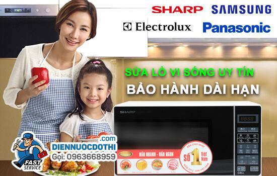 Bảo dưỡng sửa lò vi sóng tại Hà Nội