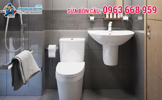 Tiết kiệm tối đa chi phí sửa chữa toilet lên tới 50% khi gọi Điện Nước Đô Thị