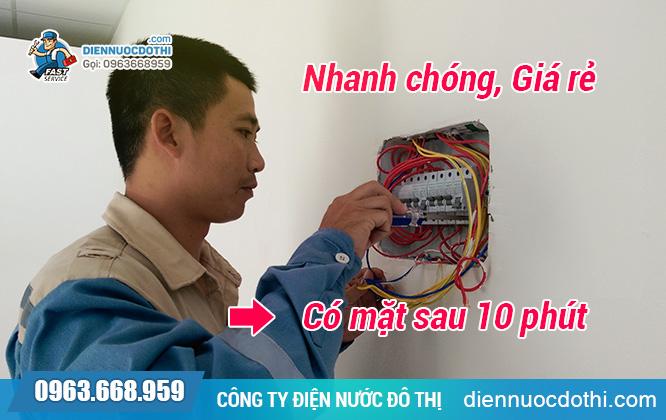 Sửa chữa điện nước tại Ba Đình giá rẻ