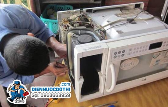 Sửa lò vi sóng tại nhà